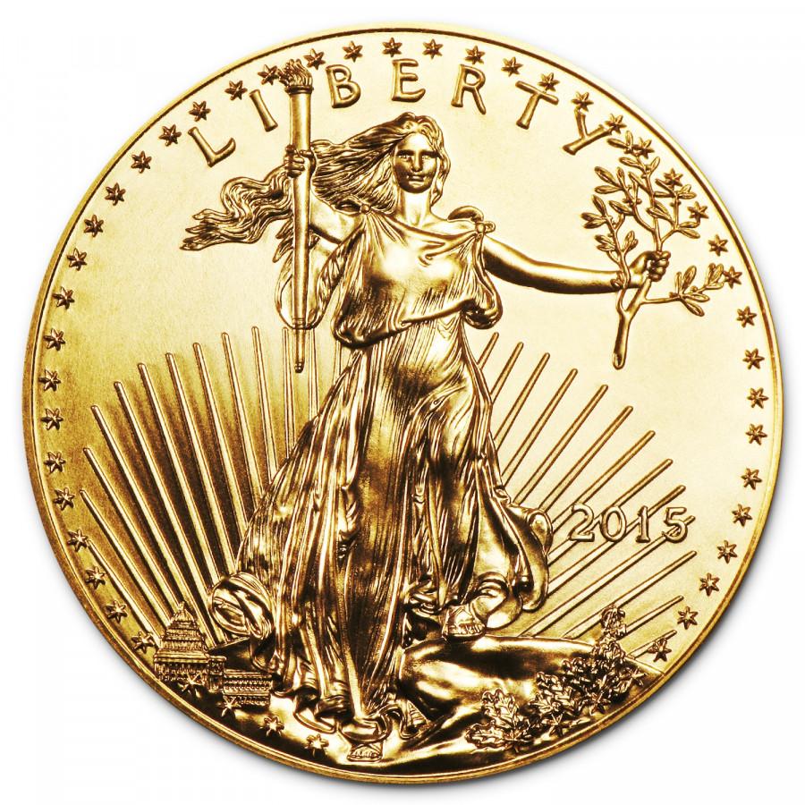 f7ee2e227 Zlatá minca American Gold Eagle 1 oz - SILVERUM - Investiční stříbro ...