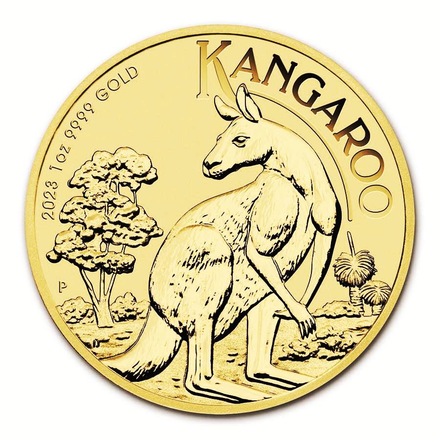 de77847a3 Zlatá minca Australian Kangaroo 1 oz - SILVERUM - Investiční stříbro ...