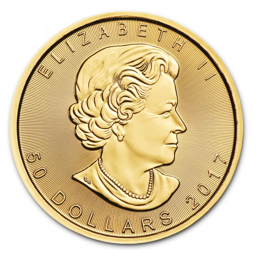 fa6941b51 Zlatá minca Canadian Maple Leaf 1 oz - SILVERUM - Investiční stříbro ...