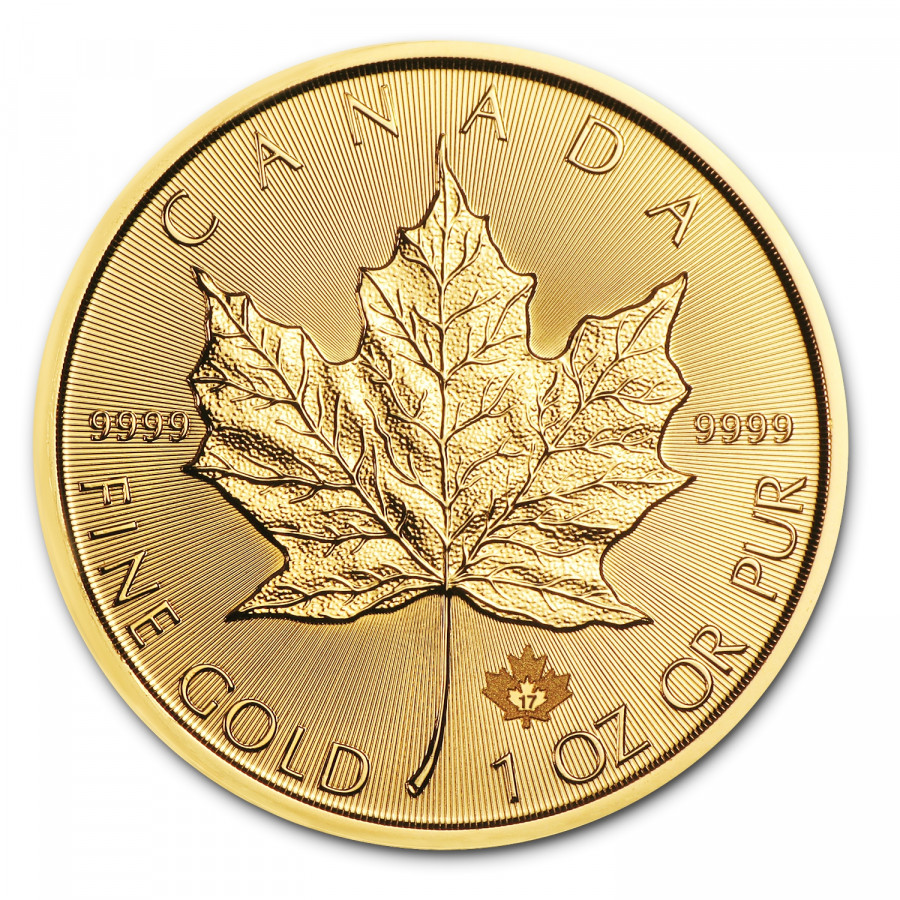 Zlatá minca Canadian Maple Leaf 1 oz