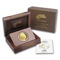 Zlatá minca Buffalo 1 oz Proof (+ dreveny box)